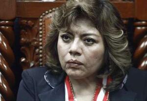 Fiscal general interina de Perú, Zoraida Ávalos.
