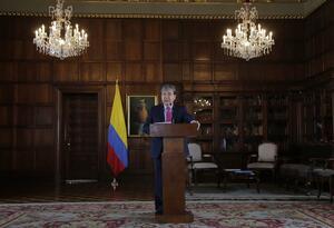 El canciller colombiano Carlos Holmes Trujillo