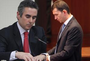 Guido Nule y Emilio Tapia
