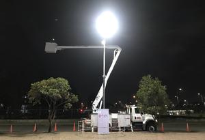 Luminaria número 80 mil instalada en Bogotá