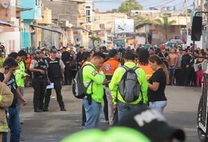 Incendio en una clínica en Ecuador