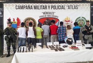 El resultado operativo fue presentado en Tumaco.