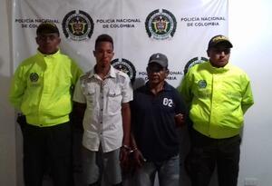 Capturados Presuntos responsables crimen en luruaco Atlántico