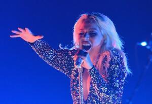 La artista Lady Gaga