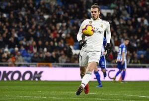 Gareth Bale con la camiseta del Real Madrid