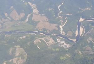 Zona afectada por atentado a Oleoducto en el Catatumbo