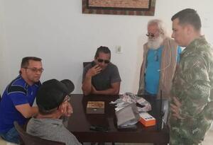 Periodistas retenidos y liberados por el ELN.