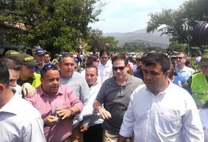 Marco Rubio, Senador de La Florida visitando la zona de frontera Colombo-venezolana