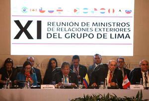 Tres de los integrantes del Grupo de Lima -México, Guyana y Santa Lucía- no reconocen a Guaidó.