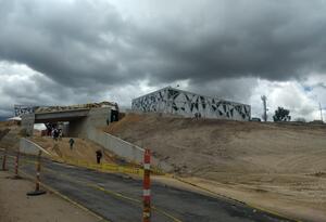 Construcción del terminal de transportes de Tunja (Boyacá)