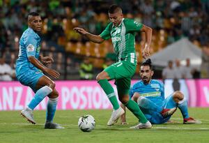 Juan Pablo Ramírez, autor del gol de la victoria para Nacional ante Jaguares