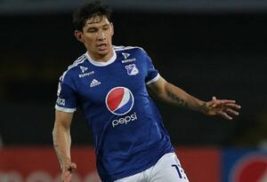 Roberto Ovelar, delantero de Millonarios