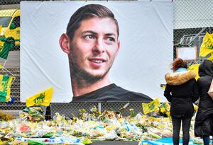Emiliano Sala y el homenaje de los hinchas del Nantes