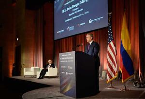 Presidente Duque en la Cámara de Comercio de EE.UU.