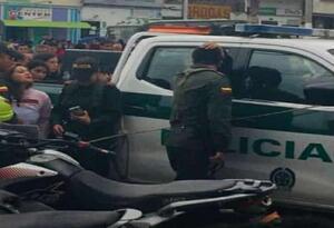 Policías asesinados en El Tambo, Nariño.