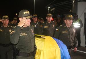 Cuerpo patrullero asesinado cauca