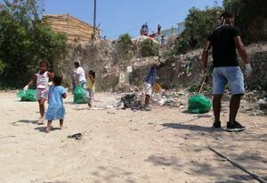 La actividad se realizó en el sector Loma Fresca