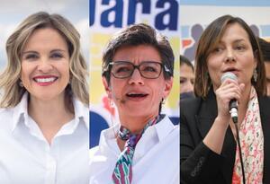 Candidatas a la Alcaldía de Bogotá