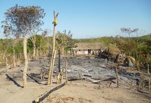 La zona rural es la màs afectada por los incendios.