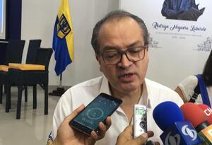Procurador Fernando Carrillo en Santa Marta