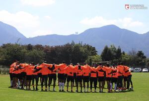 Entrenamiento de Independiente Santa Fe