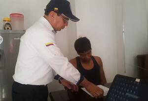 Venezolano detenido en Santa Marta