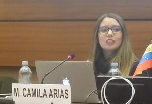 Maria Camila Arias Martinez - Conferencia Naciones Unidas
