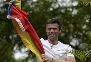 Leopoldo López, líder opositor venezolano liberado
