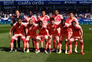 Once titular del Barcelona con Jeison Murillo
