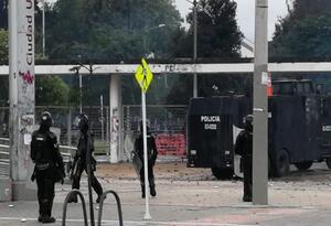 Protestas en Universidad Nacional