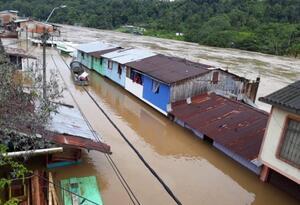 Más de 7 mil afectados por inundaciones en el municipio de Barbacoas