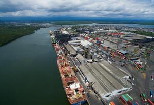 El puerto de Buenaventura