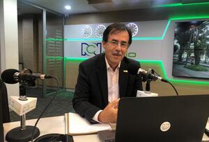 Celio Nieves, precandidato a la Alcaldía de Bogotá.