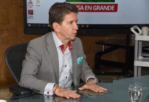 Gobernador de Antioquia, Luis Pérez Gutiérrez.