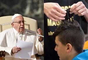 El mensaje del Papa a los peluqueros fue tomado como jocoso.
