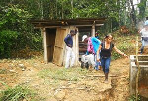 Campesinos, Vereda El Tigre, Guaviare