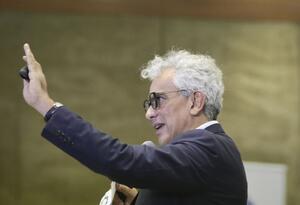 El ministro de Ambiente, Ricardo Lozano.