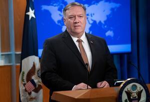 Mike Pomeo, secretario de Estado de EEUU