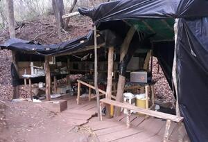 Ejército destruyó laboratorio de de cocaína del ELN