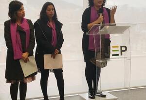 Sisma Mujer presenta informe de violencia sexual ante la JEP