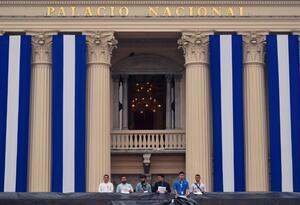 Palacio Nacional, en El Salvador