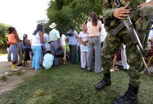 Campesinos esperan atención médica en Cartagena del Cairá (Caquetá)