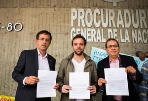 Precandidatos a la Alcaldía de Bogota piden a la Procuraduría vigilar licitación del metro