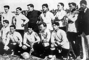 La selección de Uruguay ganadora de la Copa América de 1916