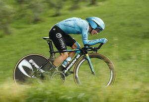 Miguel Ángel López, en la cronoescalada del Giro de Italia