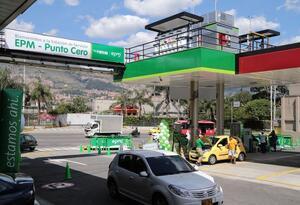 Hay interrupción parcial del servicio en estaciones de gas natural vehicular de EPM.
