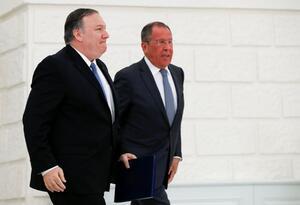 Reunión Mike Pompeo y Lavrov en Sochi