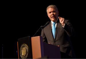 Presidente de Colombia, Iván Duque.