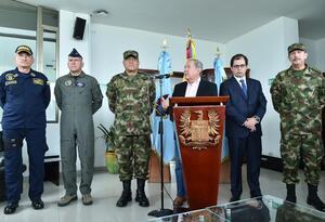 Ministro de Defensa, Guillermo Botero