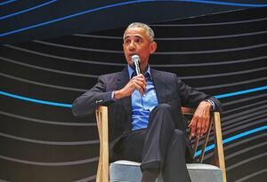 Expresidente Barack Obama en EXMA 2019